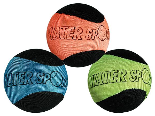Soft-Springball,<br> Water Sport, ca. 6<br>cm, 3-farbig s