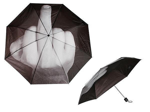 Regenschirm,<br> Finger Design 2,<br>D: ca. 90 cm, inkl.