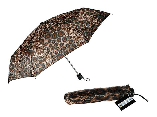 Parasol kieszeni,<br>lampart, D: ok 87 cm