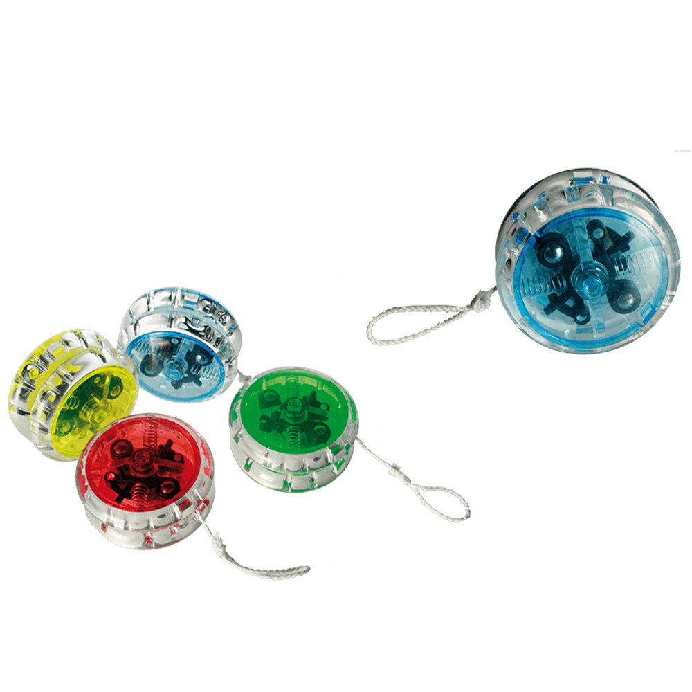 Plastic YoYo with<br> clutch & ball<br>bearing, 4 colours