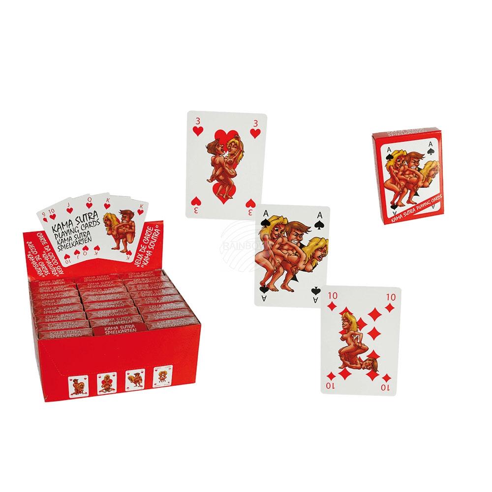 Kártyáztak, Comic<br> Kamasutra, 54<br>kártyák laponként,