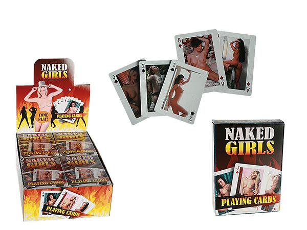 Kártyáztak, Hot<br> Girls, 54 kártyák<br>laponként, 12 St