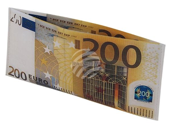 Wallet wallets<br> 200 Euro bill