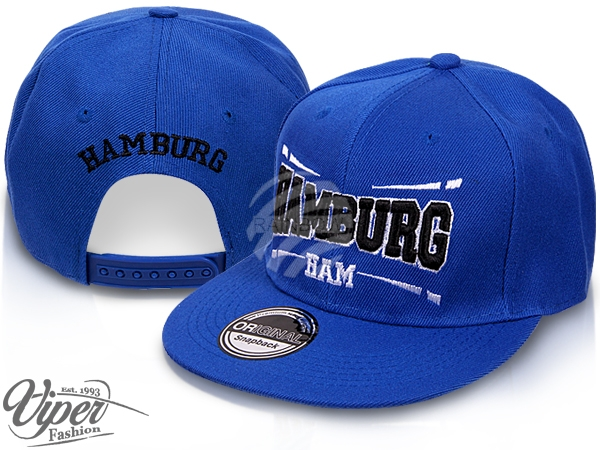 Snapback Cap<br> Basecap<br>Baseballcap HAMBURG
