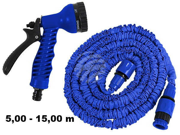 Magical garden<br> hose blue approx<br>5,00m - 15,00m