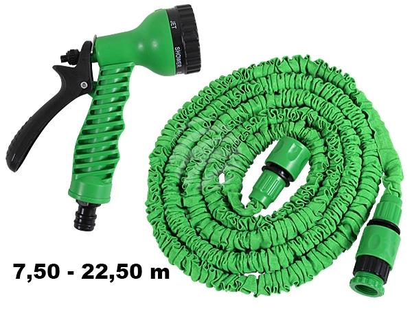 Magischer<br> Gartenschlauch<br> grün ca. 7,50m - ...