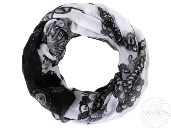 Tubeschals écharpe<br> anneau de foulard<br>de métro de s