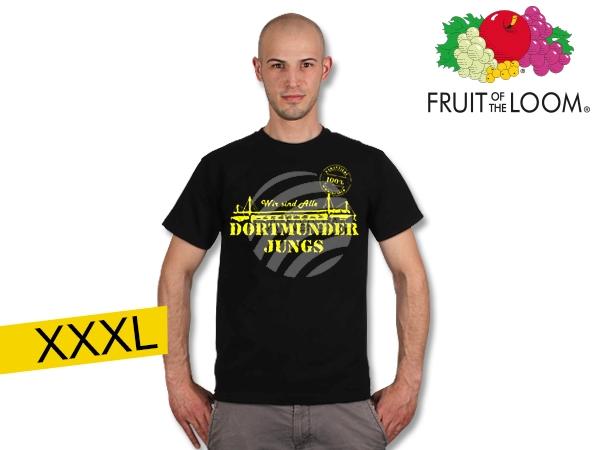 T-Shirt<br>  Dortmunder Jungs <br>black XXXL