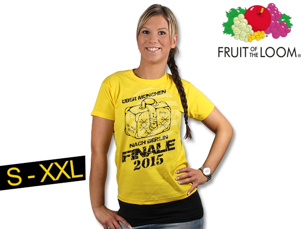 T-shirt Dortmund<br>yellow  Finale