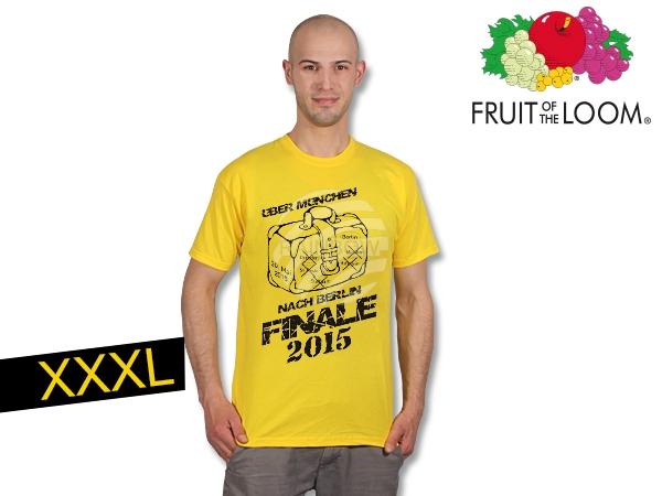 T-Shirt Dortmund<br> Finale  yellow XXXL