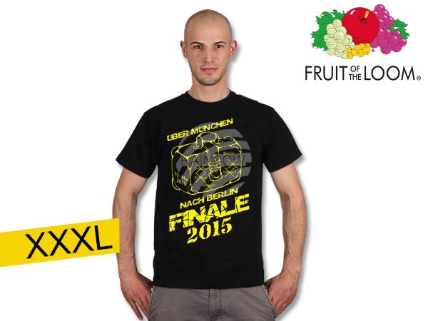 T-Shirt Dortmund<br> Finale  black XXXL