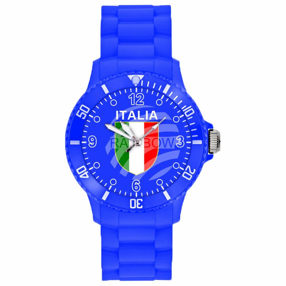 Guarda<br> l&#39;orologio da<br> polso in silicone ...
