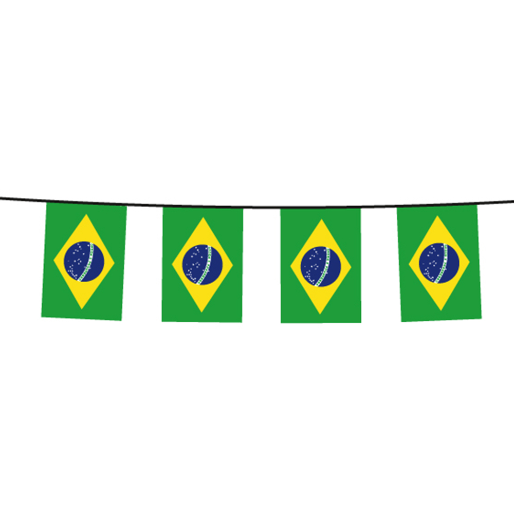 Bunting Flags<br> chain chain flag<br>Brazil